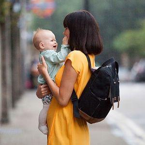 Babymel Robyn Convertible Diaper Bag NWOT